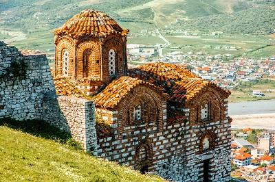 Berat, église orthodoxe,voyages et vacances en Albanie