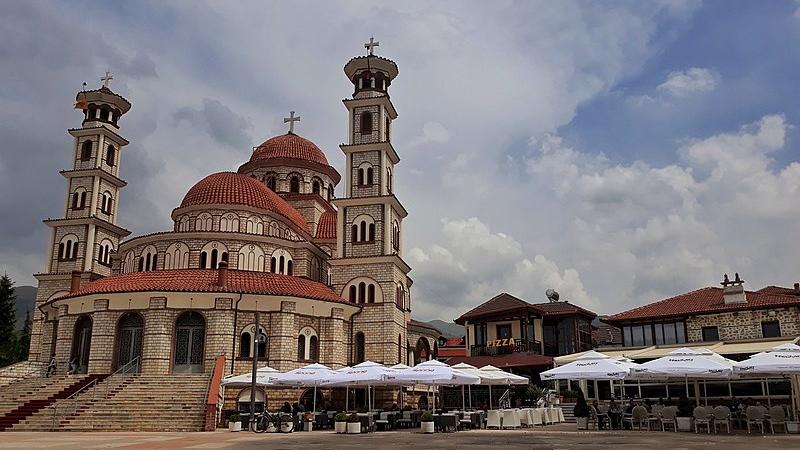 Cathédrale de la résurrection de Korça, voyages et vacances en Albanie