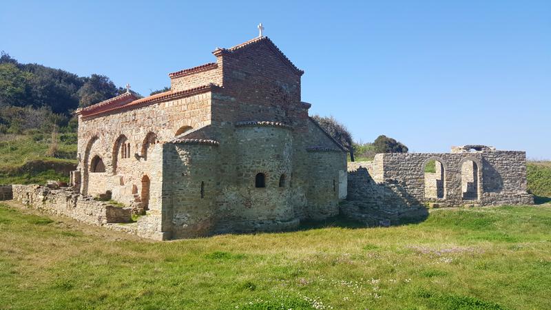 église de Sant'antonio Kepi i Rodonit voyages et vacances en Albanie