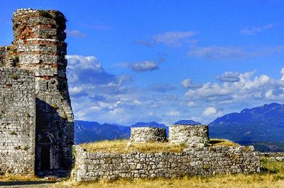 Forteresse Rozafa Shkoder Albanie