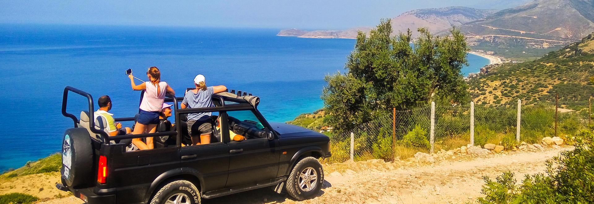 Saranda Jeep Voyages et vacances en Albanie