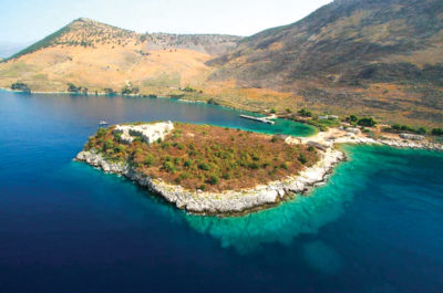 Porto Palermo vue panoramique voyages et vacances en Albanie