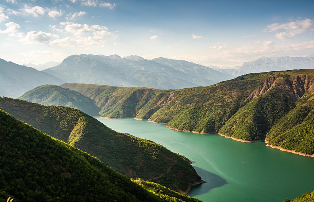 Lac Koman, Scutari, Circuits voyages et vacances en Albanie