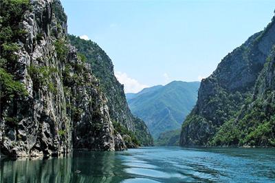 Lac du Koman Nord Albanie