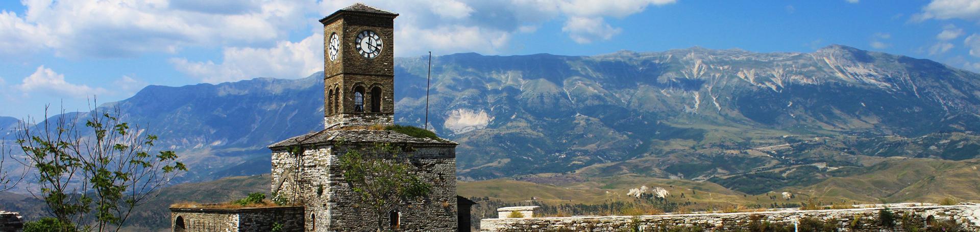 Château de Gjirokaster, Voyages et Vacances en Albanie