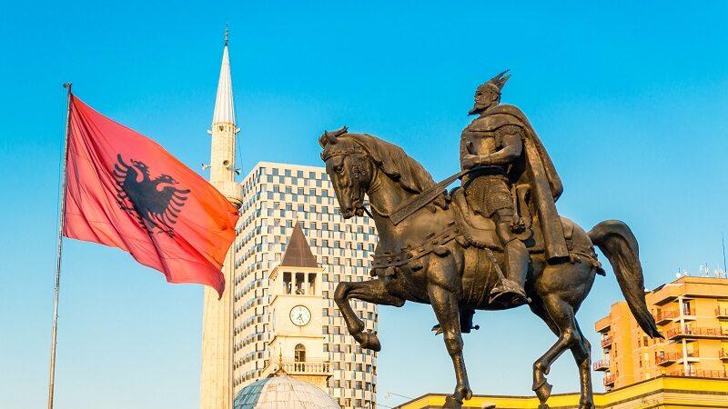 Place Skanderbeg Tirana, voyages et vacances en Albanie