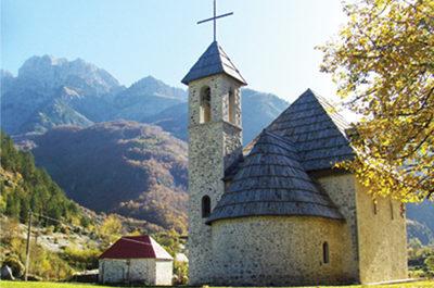 Theth eglise, Albanie du Nord