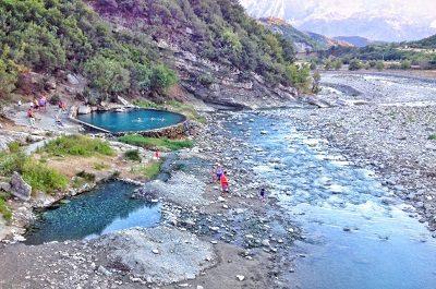 Therme du Permet, voyages et vacances en albanie