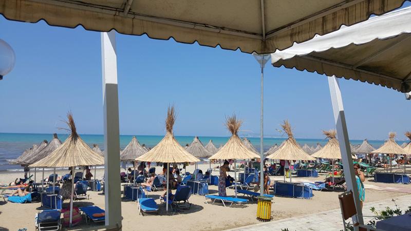 Plage de Durres Albanie, vacances en famille en Albanie